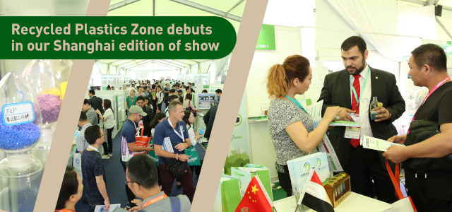 Recycled Plastics Zone debuts in our Shanghai edition of show